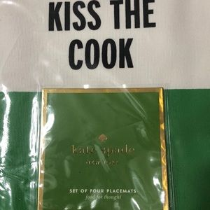 Kate spade placemats NEW